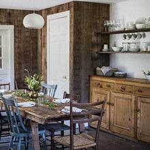Фотография: Кухня и столовая в стиле Кантри, Эко, Дом, Переделка, Дом и дача – фото на InMyRoom.ru