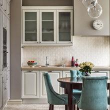 Фотография: Кухня и столовая в стиле Кантри, Квартира, Проект недели, Наталья Сорокина – фото на InMyRoom.ru