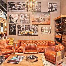 Фотография: Гостиная в стиле Эклектика, Карта покупок, LeHome, Индустрия, Маркет, Барселона – фото на InMyRoom.ru