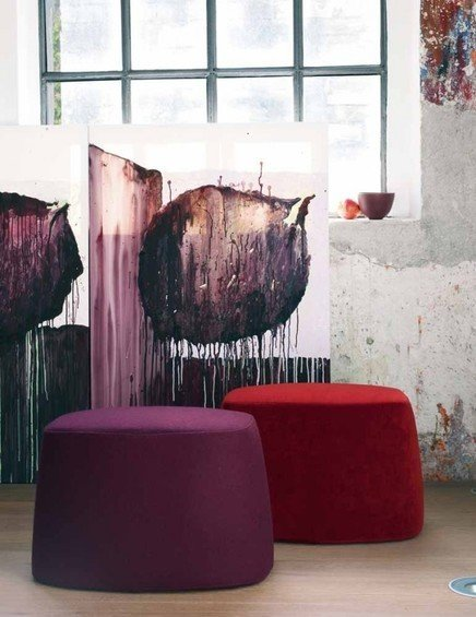 Фотография: Мебель и свет в стиле Восточный, Эклектика, Квартира, Цвет в интерьере, Дома и квартиры, B&B Italia – фото на InMyRoom.ru
