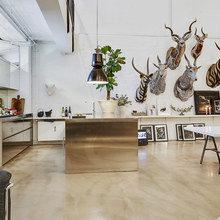 Фото из портфолио Охотничий интерьер - изделия из рогов и шкур животных – фотографии дизайна интерьеров на InMyRoom.ru