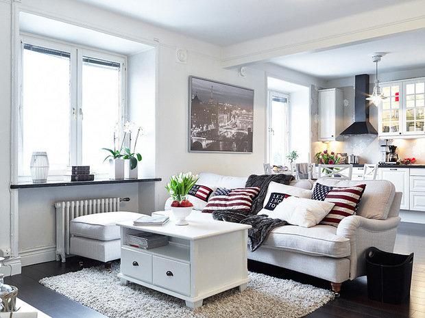 Скандинавский дизайн квартиры фото