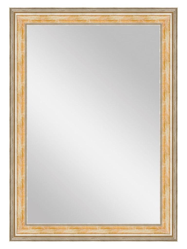 Купить Настенное зеркало Оранжевая флорес , inmyroom, Россия