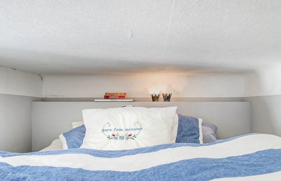 Фотография: Прочее в стиле , Скандинавский, Малогабаритная квартира, Квартира, Швеция, Дома и квартиры, Стена – фото на InMyRoom.ru