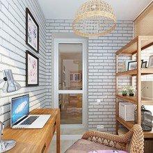 Фотография: Офис в стиле Кантри, Современный, Балкон, Интерьер комнат, Минимализм – фото на InMyRoom.ru