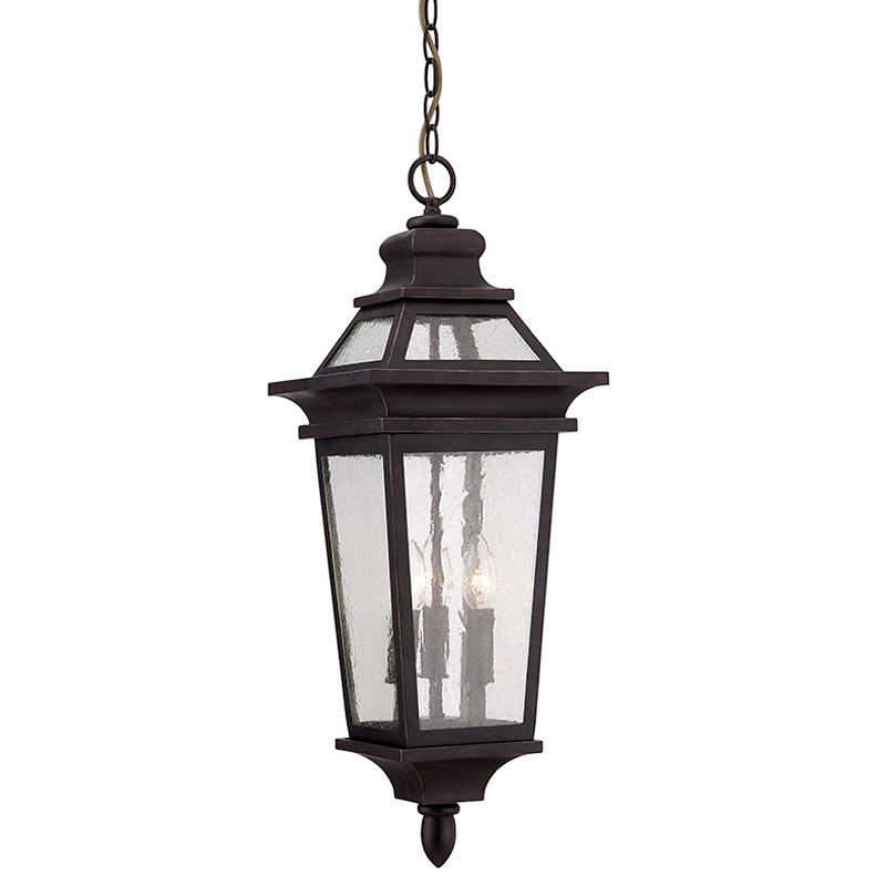 Подвесной уличный светильник Sunland Savoy House из кованного металла