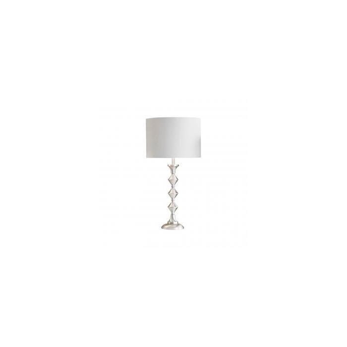 Лампа Satin nickel table lamp