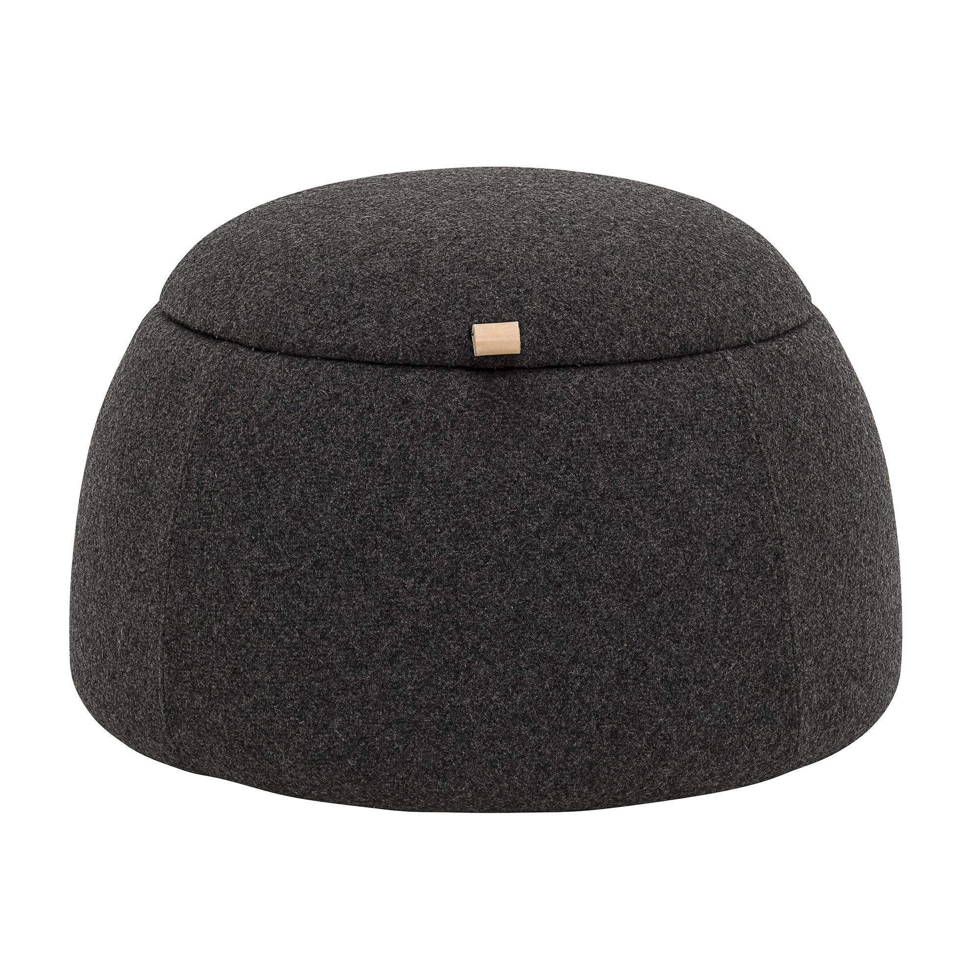Купить Пуф Rock темно-серого цвета, inmyroom, Дания