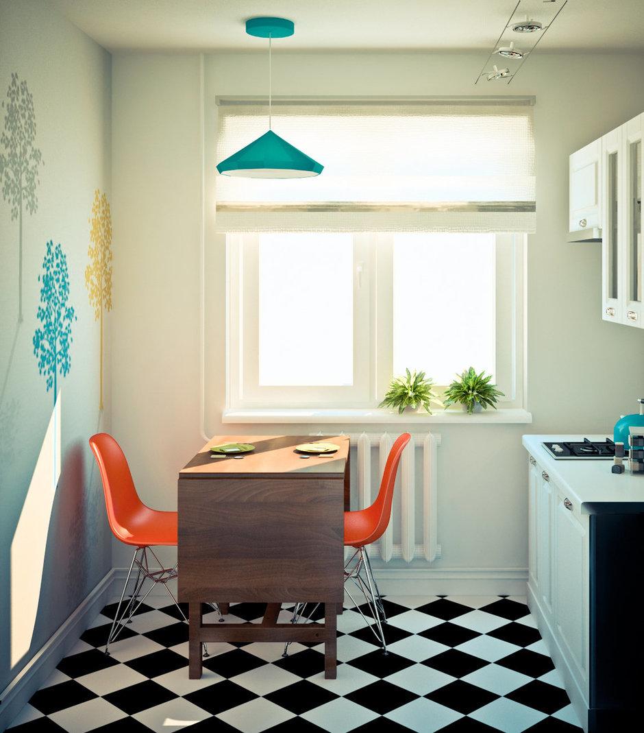 Фотография: Кухня и столовая в стиле Скандинавский, Эклектика, Квартира, Дома и квартиры, IKEA, Проект недели – фото на InMyRoom.ru