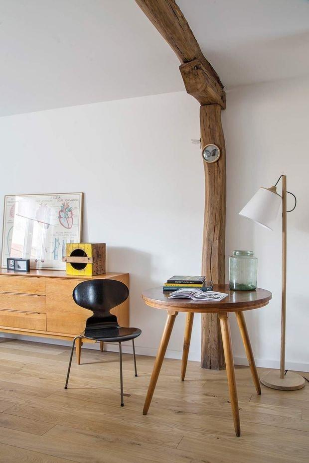 Фотография: Гостиная в стиле Эко, Лофт, Эклектика, Декор интерьера, Испания, Винтаж, как оформить интерьер в стиле лофт, mid-century modern – фото на INMYROOM