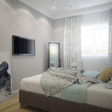 Фотография: Спальня в стиле Кантри, Квартира, Дома и квартиры, Москва – фото на InMyRoom.ru