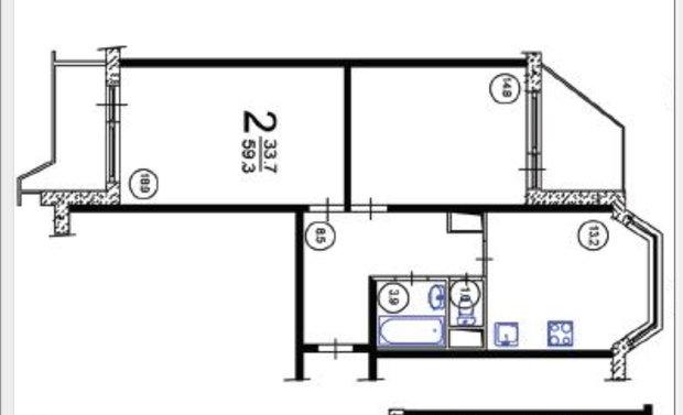 Фотография: Прочее в стиле , Квартира, Дома и квартиры, Перепланировка, П44т – фото на InMyRoom.ru