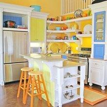 Фотография: Кухня и столовая в стиле Кантри, Современный, Интерьер комнат, Тема месяца – фото на InMyRoom.ru