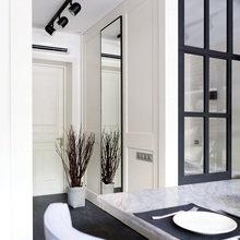 Фотография: Мебель и свет в стиле Лофт, Современный, Малогабаритная квартира, Квартира, Дома и квартиры, Проект недели, Надя Зотова – фото на InMyRoom.ru