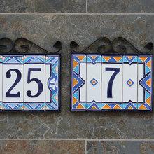 Фото из портфолио Керамические номера ручной работы – фотографии дизайна интерьеров на INMYROOM