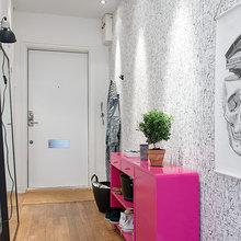 Фотография: Прихожая в стиле Скандинавский, Современный, Декор интерьера, Квартира, Швеция, Цвет в интерьере, Дома и квартиры, Белый, Гетеборг – фото на InMyRoom.ru