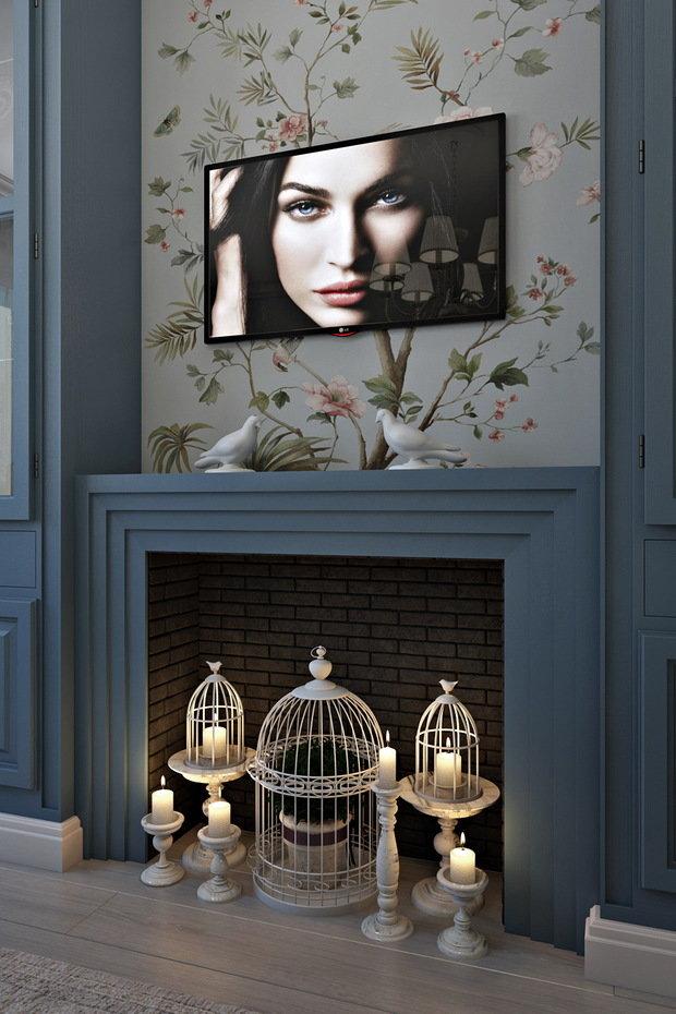 Фото из портфолио Маленькое счастье – фотографии дизайна интерьеров на INMYROOM