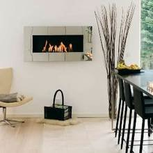 Фотография: Кухня и столовая в стиле Скандинавский, Декор интерьера, Мебель и свет, Камин – фото на InMyRoom.ru