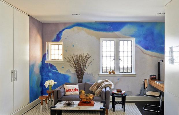 Фотография: Гостиная в стиле Лофт, Декор интерьера, Декор дома, Стена – фото на InMyRoom.ru