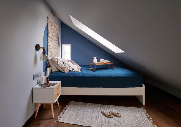 Фотография: Спальня в стиле Современный, Проект недели, Дом и дача, Долгопрудный, Таунхаус, 4 и больше, 60-90 метров, Дарья Косачева – фото на INMYROOM