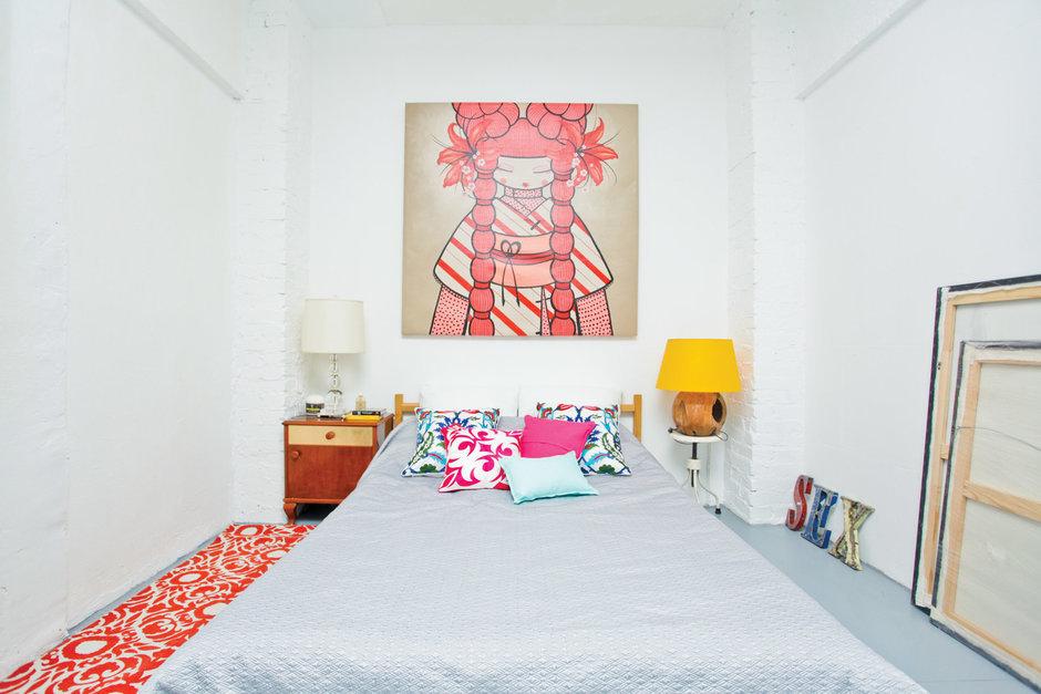 Фотография: Спальня в стиле Лофт, Скандинавский, Квартира, Дома и квартиры, IKEA – фото на InMyRoom.ru