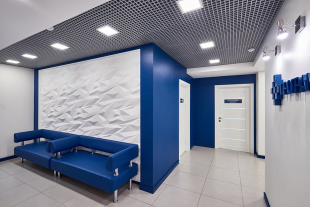 Фото из портфолио Офисы 300кв.м – фотографии дизайна интерьеров на INMYROOM
