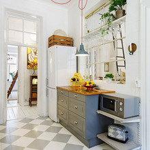 Фото из портфолио Красочный, романтичный, живописный интерьер – фотографии дизайна интерьеров на InMyRoom.ru