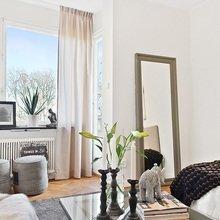 Фотография: Гостиная в стиле Скандинавский, Малогабаритная квартира, Квартира, Дома и квартиры, Мебель-трансформер – фото на InMyRoom.ru