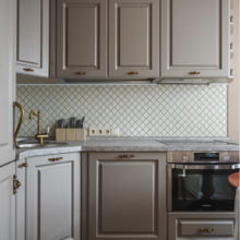 Фотография: Кухня и столовая в стиле Классический, Проект недели, Ольга Куликовская-Эшби – фото на InMyRoom.ru