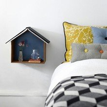 Фотография: Декор в стиле Скандинавский, Современный, Спальня, Декор интерьера, Мебель и свет, Декор дома – фото на InMyRoom.ru