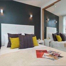 Фотография: Спальня в стиле Современный, Декор интерьера, Малогабаритная квартира, Квартира, Дома и квартиры, Лондон, Квартиры – фото на InMyRoom.ru