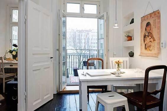 Фотография: Кабинет в стиле Скандинавский, Квартира, Швеция, Мебель и свет, Дома и квартиры, Гетеборг – фото на InMyRoom.ru