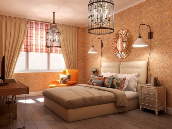 Фотография: Спальня в стиле Эклектика, Стиль жизни, Советы, Надя Зотова – фото на InMyRoom.ru