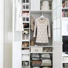 Фотография: Спальня в стиле Кантри, Гардеробная, Интерьер комнат, Гардероб – фото на InMyRoom.ru