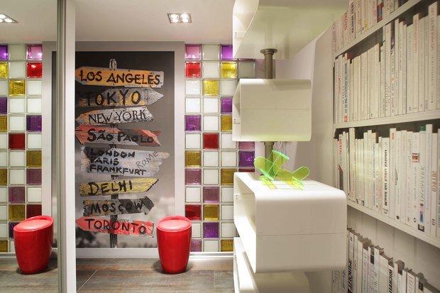 Фотография: Декор в стиле Лофт, Современный, Эклектика, Квартира, Проект недели – фото на InMyRoom.ru
