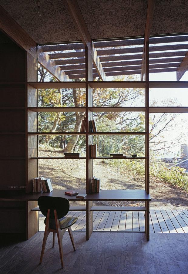 Фотография: Офис в стиле Современный, Дом, Дома и квартиры, Япония – фото на InMyRoom.ru