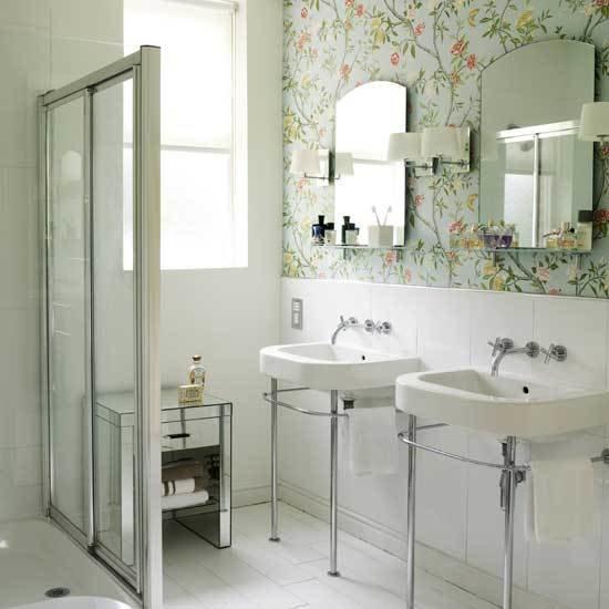 Фотография: Ванная в стиле Прованс и Кантри, Эклектика, Советы, Ремонт на практике – фото на InMyRoom.ru