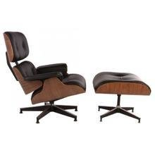 Кресло Lounge Chair & Ottoman Premium Black