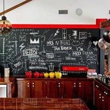 Фотография: Кухня и столовая в стиле Лофт, Современный, Дом, Дома и квартиры, Нью-Йорк, Стол – фото на InMyRoom.ru
