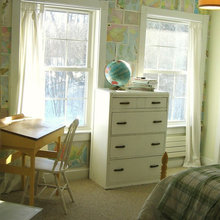 Фотография: Детская в стиле Кантри, Декор интерьера, Декор дома, Цвет в интерьере, Обои – фото на InMyRoom.ru