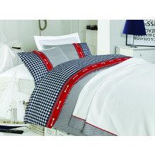 Комплект постельного белья евро BLUE CHECK