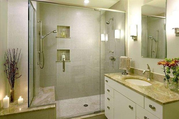 Фотография: Ванная в стиле Классический, Декор интерьера, Малогабаритная квартира, Квартира, Дома и квартиры – фото на InMyRoom.ru