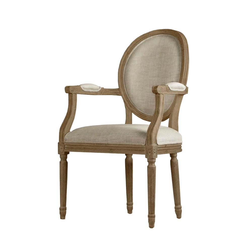 Стул с подлокотниками Louis Arm Chair