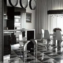 Фото из портфолио Kharkiv. Black & White – фотографии дизайна интерьеров на InMyRoom.ru