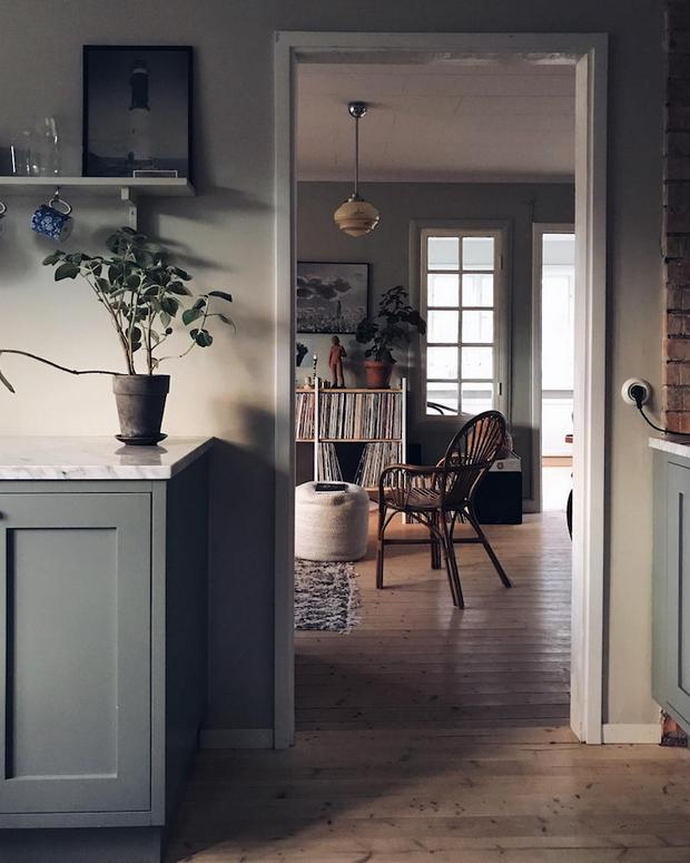 Фотография: Гостиная в стиле Прованс и Кантри, Декор интерьера, Дом, Швеция, Гетеборг, Уильям Моррис – фото на InMyRoom.ru