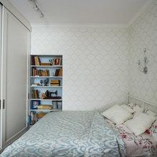 Фотография: Спальня в стиле Кантри, Малогабаритная квартира, Квартира, Проект недели, Москва, Bonhomedesign – фото на InMyRoom.ru