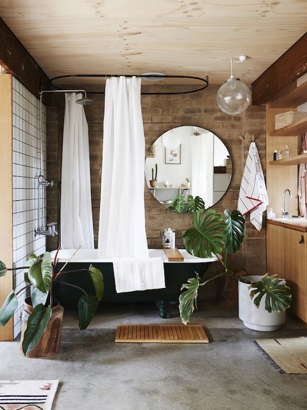 Фотография: Ванная в стиле Скандинавский, Декор интерьера, Дизайн интерьера, Цвет в интерьере – фото на InMyRoom.ru