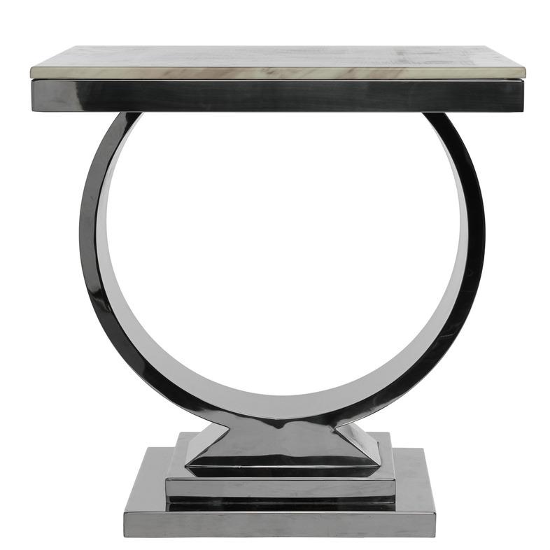 Купить Приставной столик со столешницей из искусственного мрамора, inmyroom, Китай