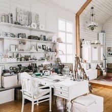 Фото из портфолио Как превратить ЧАСОВНЮ в уютный дом      – фотографии дизайна интерьеров на InMyRoom.ru