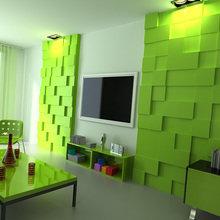 Фото из портфолио Декоративные панели DURALMOND – фотографии дизайна интерьеров на InMyRoom.ru